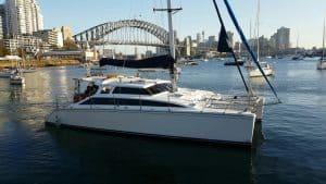 catamaran harbour bridge